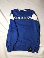 NWT/FREE SHIP J.AMERICA Men's Large Sweatshirt Universityof Kentucky