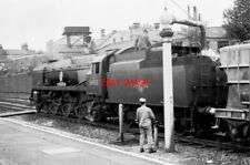 PHOTO  SR BATTLE OF BRITAIN CLASS LOCO NO 34053 SIR KEITH PARK AT NEWBURY 1964
