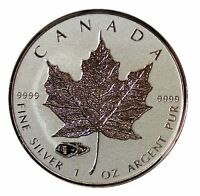 2016  SILVER 1 oz. CANADIAN MAPLE LEAF TANK PRIVY LIMITED MINTAGE!!