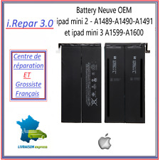 Battery Neuve OEM ipad mini 2 - a1489-a1490-a1491 et ipad mini 3 A1599-a1600,