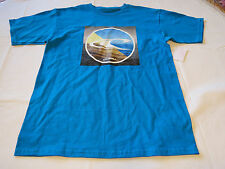 Mens O'Neill T shirt TEE logo surf skate S small Beacon SP6118104 TUR Turquoise