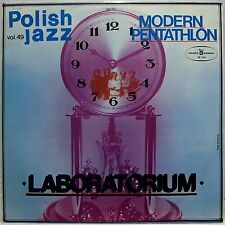 "Laboratorium MODERN PENTATHLON Polish Jazz vol.49 1976 - Vinyl LP 12"" Near Mint"