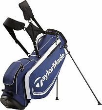 TAYLORMADE GOLF 2017 4.0 STAND BAG MENS -NAVY/WHITE- 4-WAY TOP 6 POCKETS