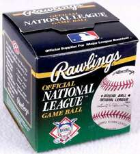 Official Leonard Coleman National League Baseball Sealed In Box