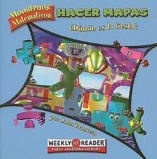 Hacer Mapas: ?Donde Es la Fiesta? (Monstruos Matematicos (Paperback)) (Spanish