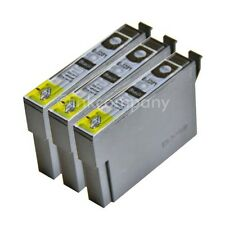 3 kompatible Tintenpatronen schwarz für Drucker Epson SX440W SX235W