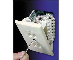 Electrical Wall Outlet Socket Diversion Safe Hidden Home Security Secret Stash