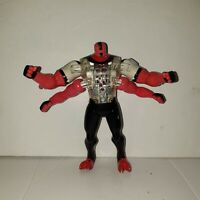 """BEN 10 ULTIMATE ALIEN dna FOUR ARMS figure 6"""" inch BANDAI 2006 (I5)"""
