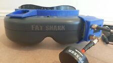 Fatshark Teleporter FPV Goggles with pro58 Achilles and faceplate mod RRP $399