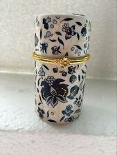 Details about  Chinese Blue and white porcelain Toothpick Holder/ Gift Box