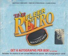 2012-13 Upper Deck Fleer Retro Hockey Hobby Box