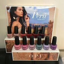 Opi Nail Lacquer Peru Collection Fall 2018 - Full Set (No Display)