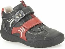 Scarpe Stivali in pelle rosso per bambini dai 2 ai 16 anni