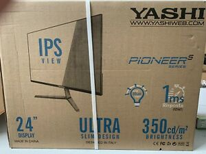 YASHI MONITOR 24 LED IPS 16:9 FHD 350CD/M 1MS 75HZ VGA HDMI, PIONEER NUOVO