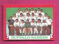 1973-74 OPC # 94 SABRES  TEAM PHOTO NRMT  CARD (INV# A8047)