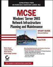 MCSE: Windows Server 2003 Network Infrastructure Planning and Maintenance Study