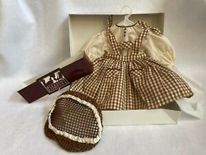 American Girl  Pleasant Company  1995  Addy  Walkers'  Birthday Pinafore & Snood