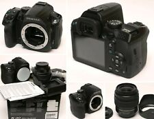 Pentax K-30 nera con SMC Pentax DAL 1:3,5-5,6 18-55mm AL al TOP - 3.420 scatti