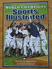 09 NEW YORK YANKEES Champion PROMO Sports Illustrated Display Poster DEREK JETER