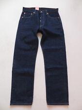Levi's 501 Jeans Hose, W 33 /L 30, NEU ! Indigo Oldschool Denim wash 0101, RAR !