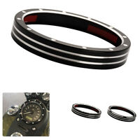 Motorcycle Gauge Bezel Speedometer Tachometer Trim Ring Cover For Sportster 1200