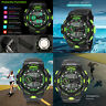 Luxury Men Watch Sport Waterproof Watch Analog Digital Military LED Wrist Watch