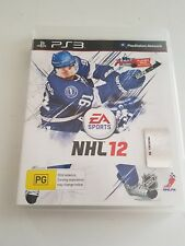 NHL 12 Sony PlayStation 3 PS3