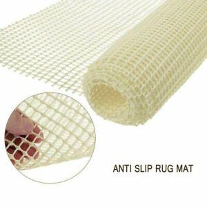 2pcs Non Slip Grip Mat Roll Rubber Shelf Drawer Liner Table Kitchen Cupboard UK