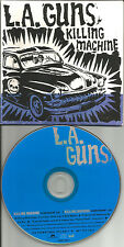 LA GUNS Killing Machine w/RARE CLEAN TRK CARDED PROMO DJ CD single L.A. 1994 USA