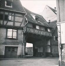 COLMAR c. 1950 -  Vieille Ville Porche de Maison Haut-Rhin DIV 4812