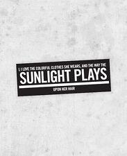 "Beach Boys  Sticker - ""Good Vibrations"" laptop Bumper, brian wilson, mike love,"