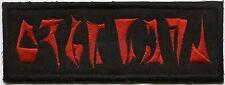 "Iron on Custom Star Trek Klingon Name Tag Patch - ""YOUR NAME"""