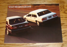 Original 1994 Volvo 900 Series Sedan Sales Brochure 94 940 960