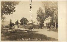 Epsom NH Main St. c1910 Real Photo Postcard