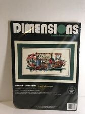 "Dimensions Counted Cross Stitch Kit  ""Garden Collectibles"" #3782  New In Package"