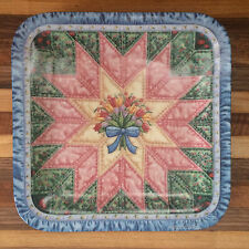 "Cherished Traditions ""The Star"" Quilt Plate #2 of 8 Mary Ann Lasher"