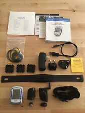 Garmin Edge 500 cycling GPS bundle Heart Rate cadence and speed sensors