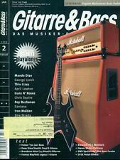 Gitarre & Bass 2009/02 (Mando Diao)