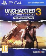 UNCHARTED 3 LA TRAICION DE DRAKE PS4 EN CASTELLANO ESPAÑOL NUEVO PRECINTADO PS4