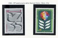 19314) UNITED NATIONS (Vienna) 1980 MNH** 35 Years UNO -