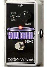 Electro Harmonix Holy Grail Neo Reverb Pedal w/ Power Supply EHX
