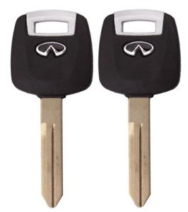 2 New N104 (46) Transponder Chip Key For 2003-2008 Infinity FX35 FX45 G35 QX56