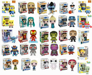 """FUNKO POP FIGURES GIANT COLLECTION - CHOOSE YOUR POP VINYL - 6"""" OR MULTI PACK"""