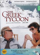 The Creek Tycoon Anthony Quinn,Jacqueline Bisset All Regions NEW DVD