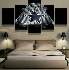 Dallas Cowboys 5PCS Canvas Prints Painting Wall Art Room Decor Without Frame