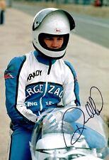 Randy MAMOLA RARE SIGNED 12x8 Portrait Photo Autograph AFTAL COA