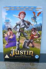 Justin And The Knights Of Valour (DVD, 2014) - VGC - Watched Once Only