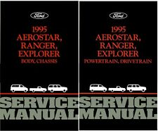 1995 Aerostar Explorer Ranger Shop Service Repair Manual Book Engine Drivetrain