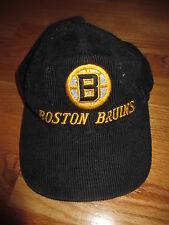 Vintage The G Cap BOSTON BRUINS (Adjustable Snap Back) Cap CORDUROY