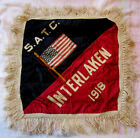 WWI Student Army Training Corps Cushion Slipcase Interlaken, N.Y. Area College